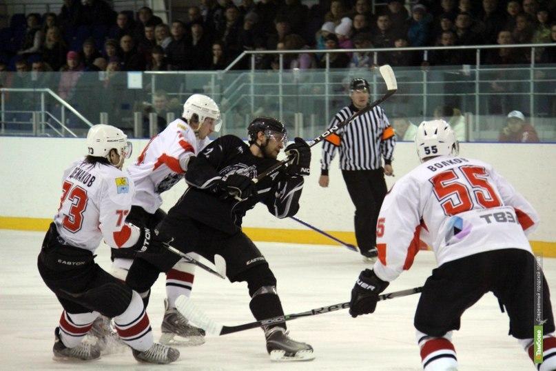 ХК «Тамбов» уступил во второй игре «Прогрессу»
