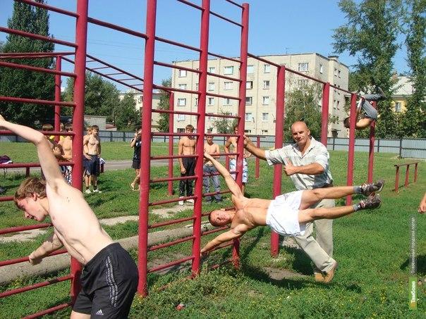 В Тамбове хотят построить площадки для Street Workout