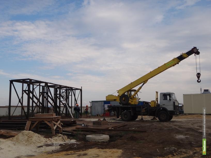 В центре Тамбова подрядчик незаконно строит жилье