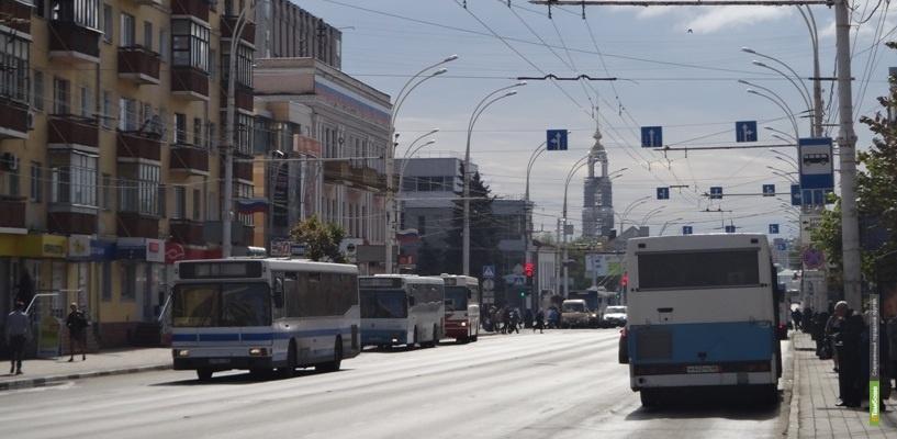 Схема движения транспорта в центре Тамбова на несколько дней изменится