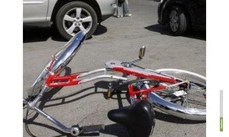 Водитель автомобиля «LADA Priora» сбил велосипедиста