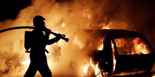 За один час в Тамбовской области сгорели два авто