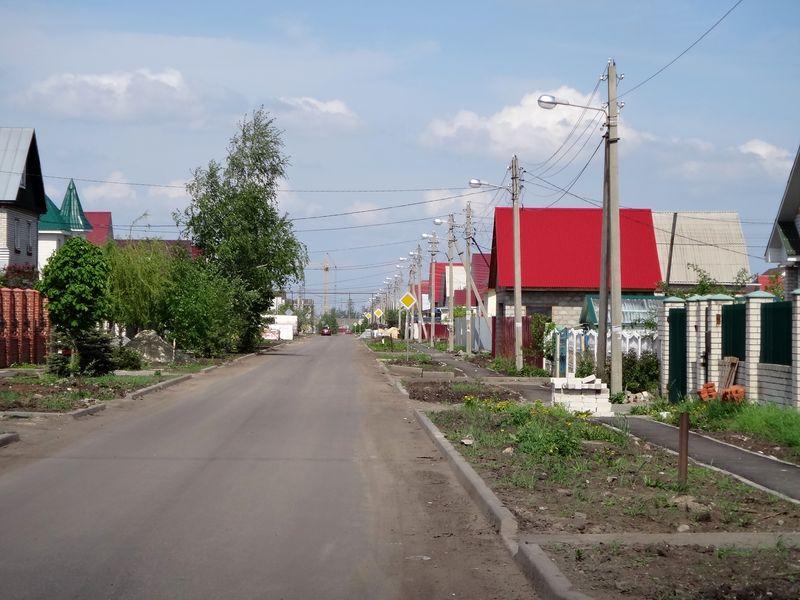 Дороги в микрорайоне Северном почти достроили