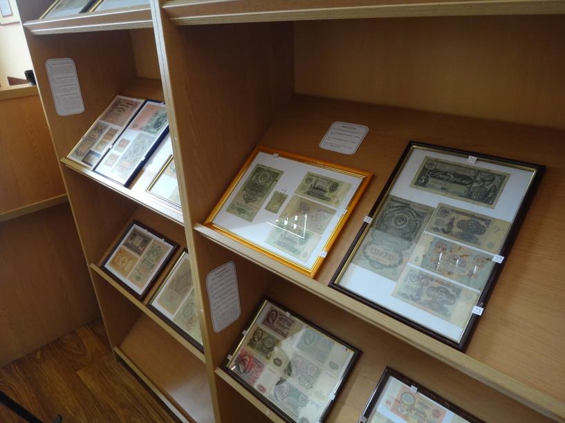 В Тамбове открыли необычную выставку денег