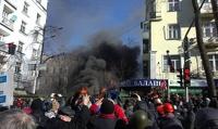 Ситуация в центре Киева снова обостряется: на улицах гремят взрывы