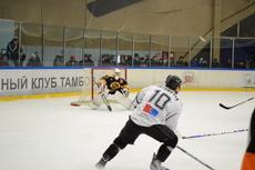 ХК «Тамбов» вновь отвоевал победу у хоккеистов из Электростали