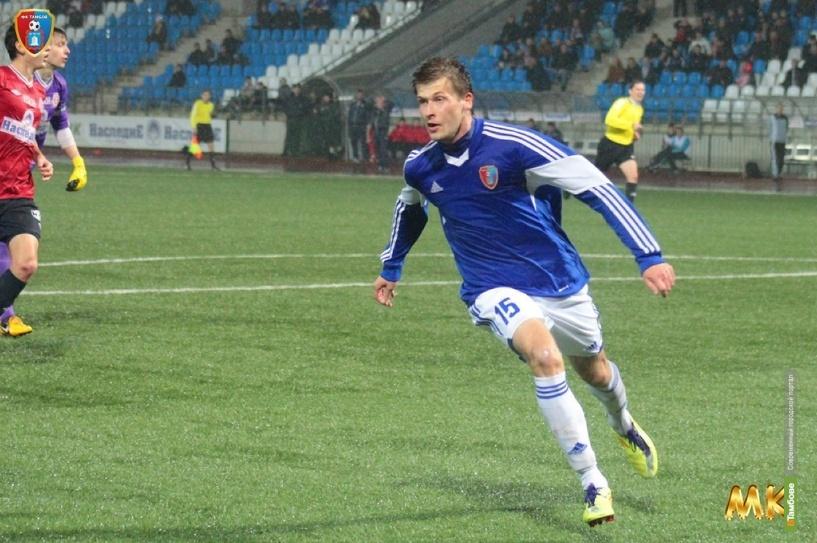 Первый матч на выезде ФК «Тамбов» провел вничью