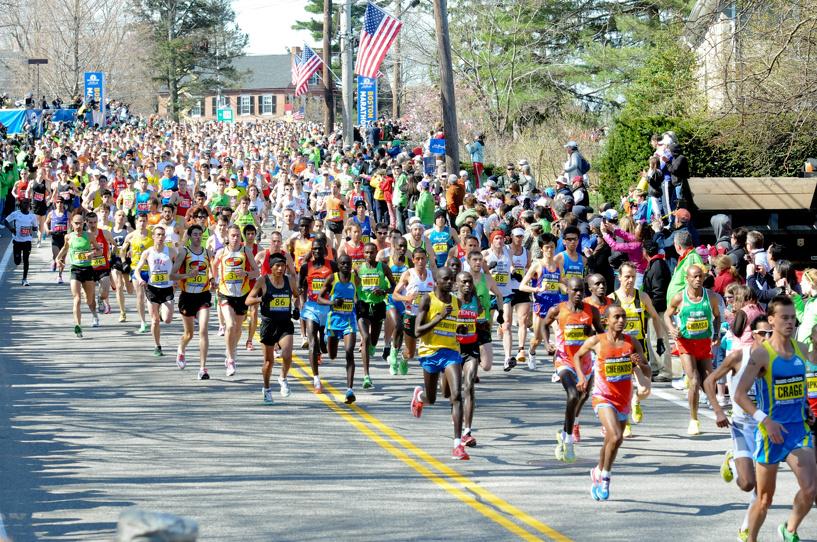 Россиянин занял второе место на Бостонском марафоне