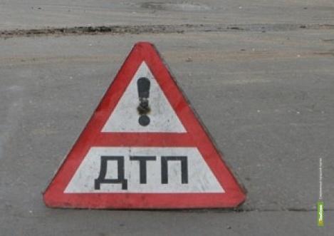 Пассажирский автобус попал в ДТП на тамбовской дороге
