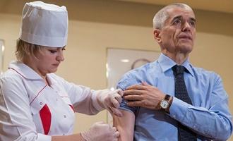 В этом году россиянам сделали рекордное количество прививок от гриппа