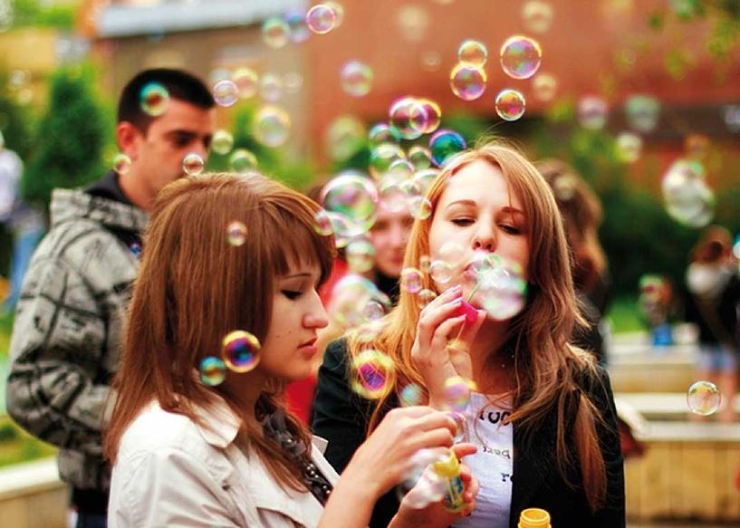 Тамбовчан ждет День мыльных пузырей