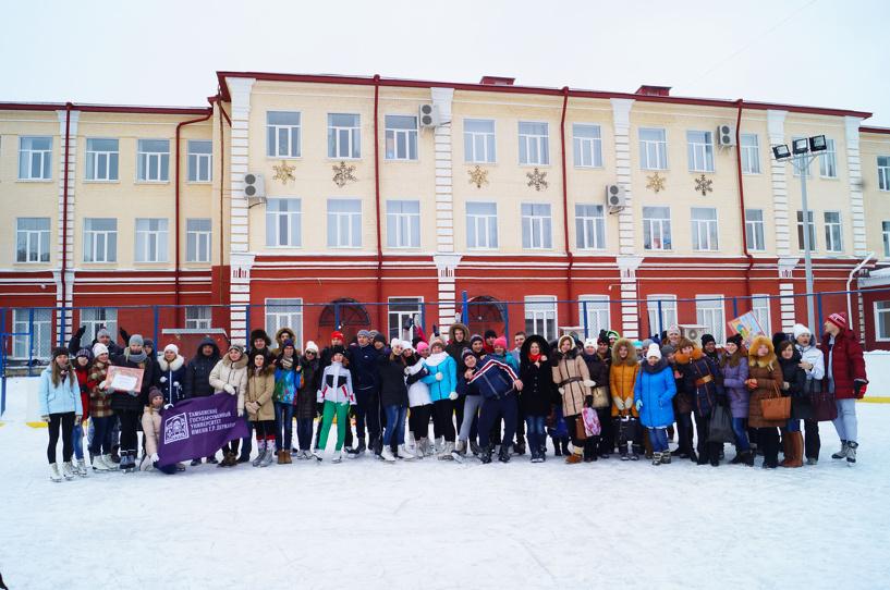 Дом молодёжи устроил для студентов зимние игры