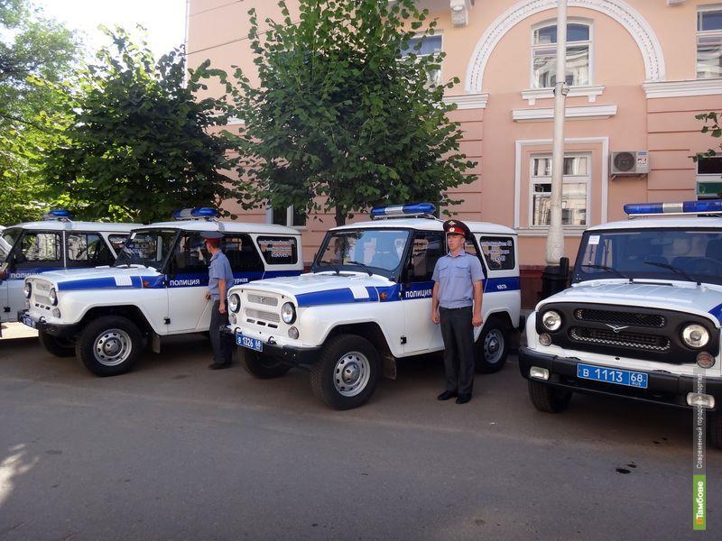 Тамбовские полицейские получили новый транспорт