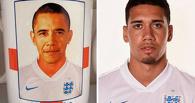 Рекламщики перепутали английского футболиста с Обамой