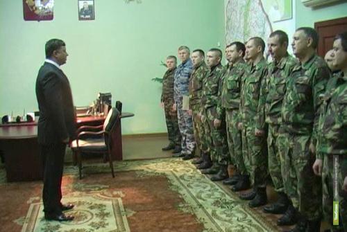 Тамбовские полицейские уехали служить на Северный Кавказ