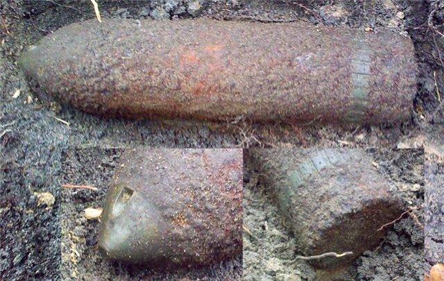 В Комсомольце под Тамбовом снова нашли снаряды