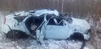 Обгон не удался: водитель Renault съехал в кювет