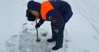 В Тамбове проверили толщину льда в местах для купания на Крещение