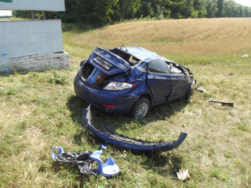 В Гавриловском районе в аварии пострадала целая семья