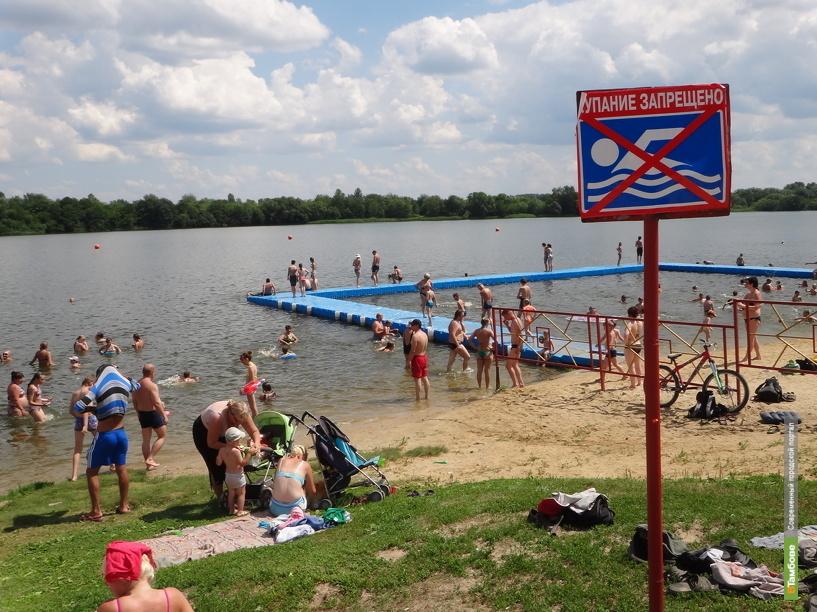 За лето в водоемах Тамбовщины утонули 27 человек
