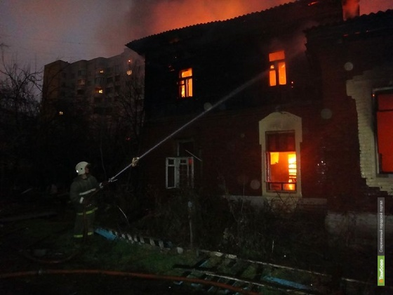 За год тамбовские пожарные спасли от огня 262 человека