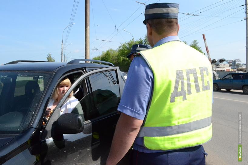 Почти 2,5 тысячи автомобилистов в Тамбове оштрафованы за тонировку
