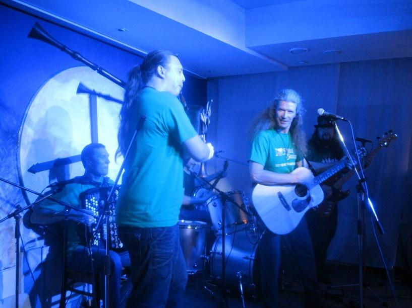 Фолк-группа «Spiritual Seasons» выступила в «Новом городе»