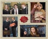 В США выпустили почтовые марки с Гарри Поттером