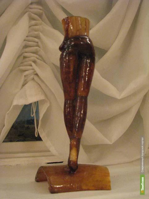 Тамбовчанин сделал ноги Плисецкой из...рогов коровы