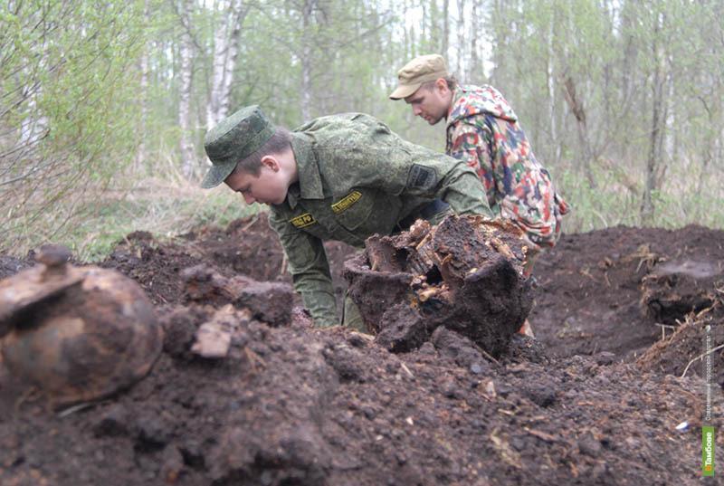 В Тамбовской области работают десять поисковых отрядов