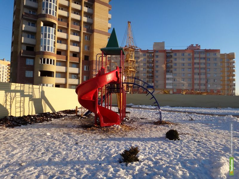 В Тамбове появятся дополнительные детские площадки