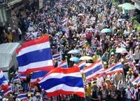 МИД советует россиянам не летать в Бангкок до конца января