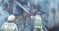 В Тамбове загорелся строительный вагончик