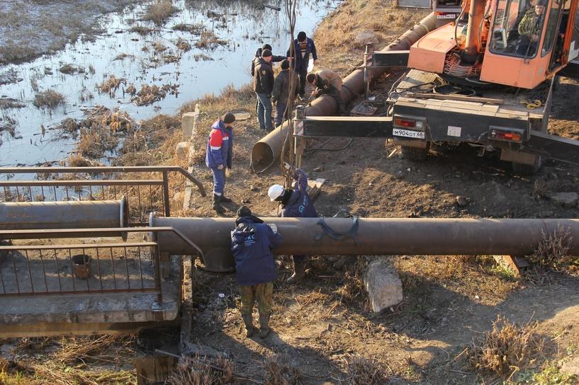 В центре Тамбова отремонтировали изношенный участок водопровода