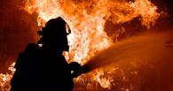 В Моршанском районе загорелись два грузовика