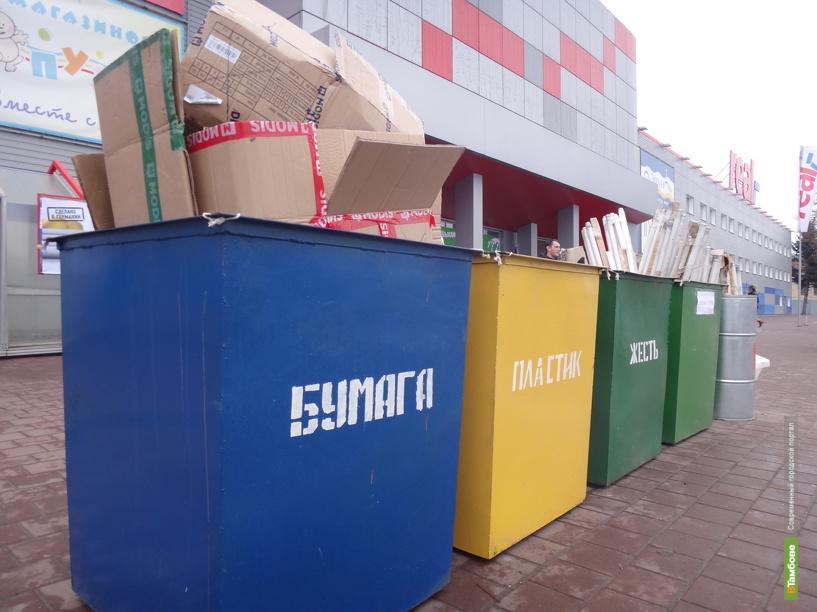 В Тамбове готовят эксперимент по раздельному сбору мусора