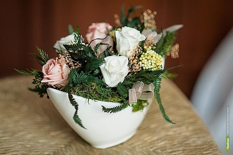 В Тамбове появились неувядающие цветы