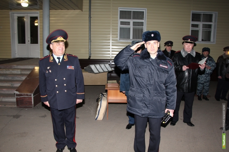 Тамбовские полицейские вернулись из сочинской командировки
