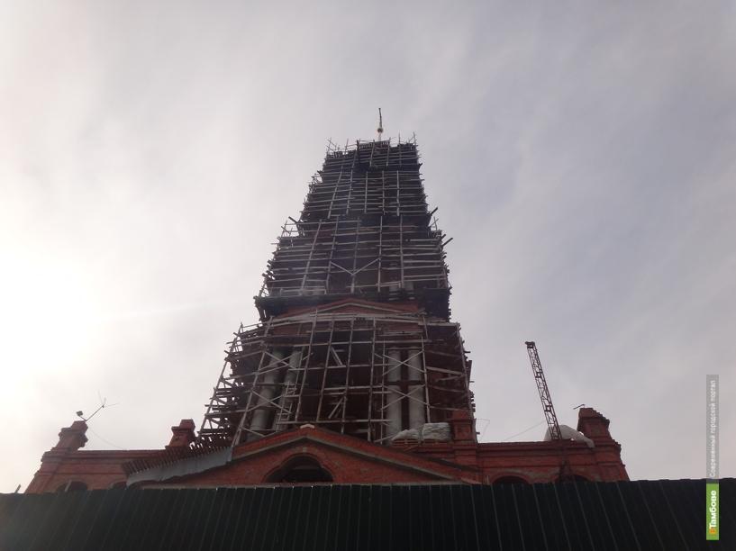 Бой курантов на новой колокольне тамбовчане услышат после Пасхи