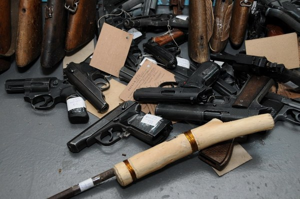 С начала года тамбовчане сдали в полицию 27 единиц оружия