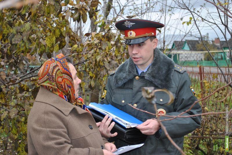 В конкурсе участковых Тамбовщину представит капитан из Сосновки