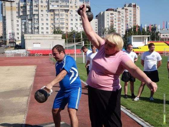 Электрики и токари Тамбова займутся спортом