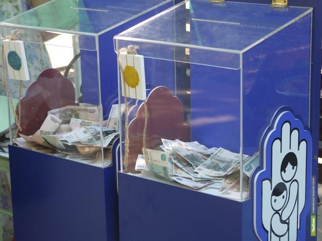 Тамбовчане собрали свыше 12 миллионов рублей для больных детишек
