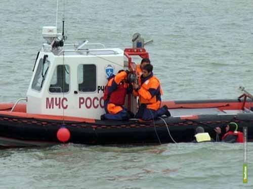 Незадачливые лодочники «искупались» в Тамбовском море