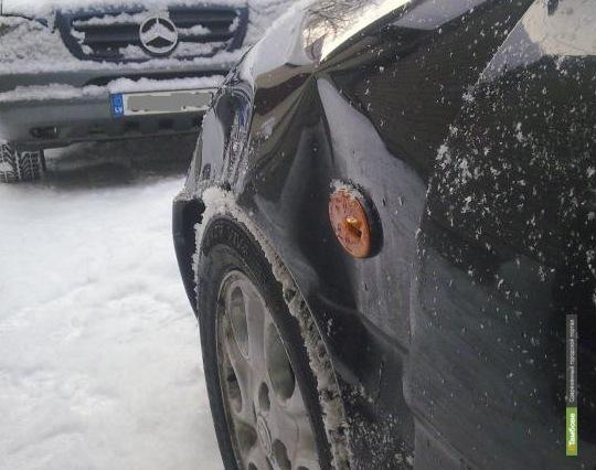 Тамбовский автолюбитель пострадал в аварии