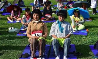 В Южной Корее прошли необычные соревнования
