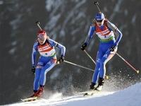 Российские биатлонистки взяли серебро в эстафете Кубка мира