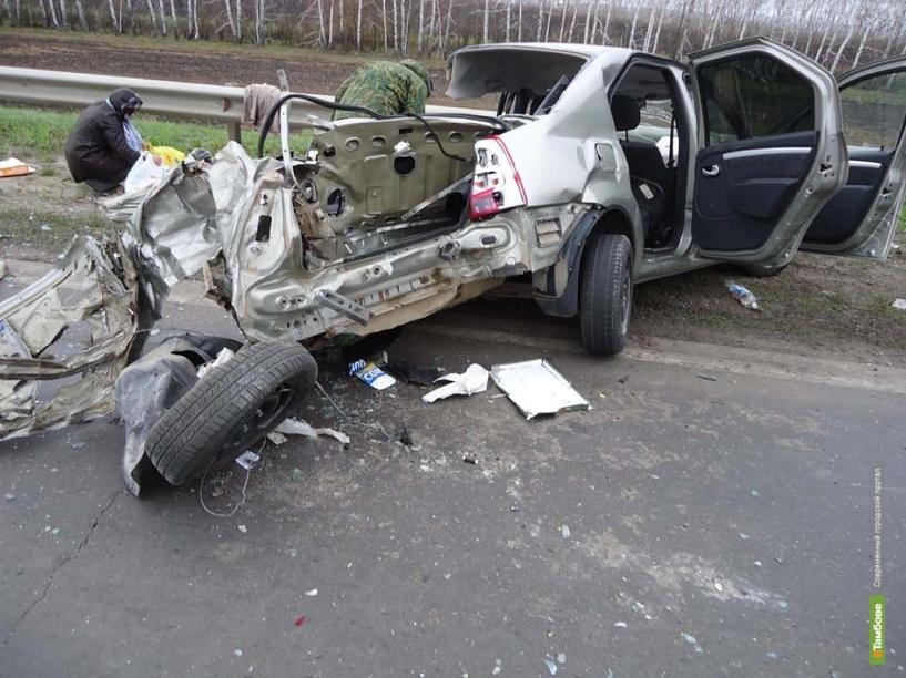 За неделю в ДТП на Тамбовщине погибли три человека