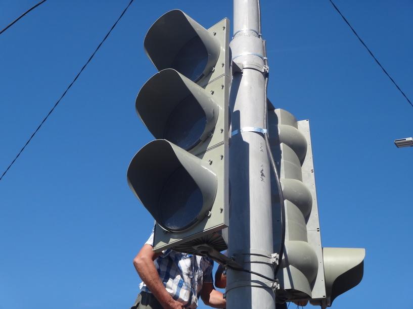 На севере Тамбова стало больше на один светофор