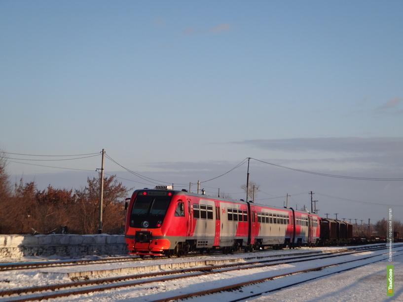 Количество пассажирских поездов на Тамбовщине не сократится